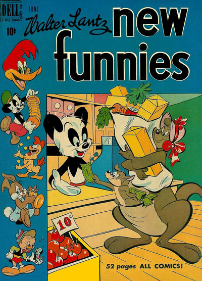 Cover for Walter Lantz New Funnies (Dell, 1946 series) #160