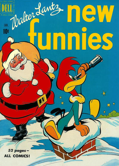 Cover for Walter Lantz New Funnies (Dell, 1946 series) #167