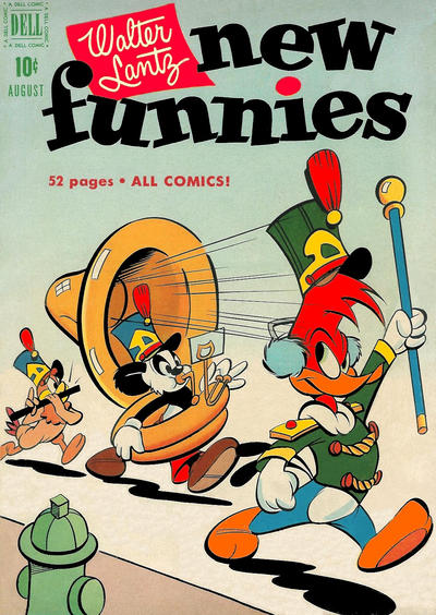 Cover for Walter Lantz New Funnies (Dell, 1946 series) #174