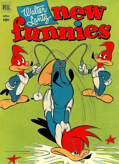 Cover for Walter Lantz New Funnies (Dell, 1946 series) #182