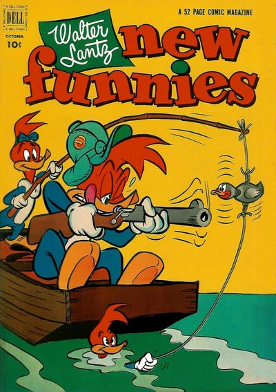 Cover for Walter Lantz New Funnies (Dell, 1946 series) #188