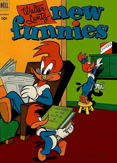 Cover for Walter Lantz New Funnies (Dell, 1946 series) #189