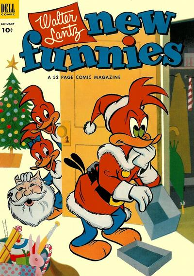 Cover for Walter Lantz New Funnies (Dell, 1946 series) #191