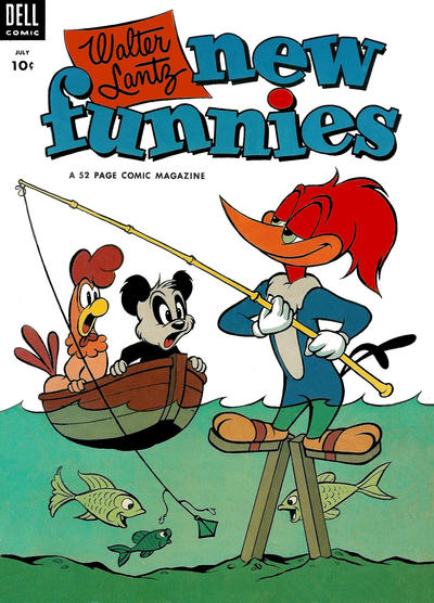Cover for Walter Lantz New Funnies (Dell, 1946 series) #197