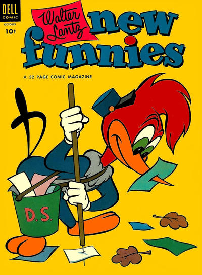 Cover for Walter Lantz New Funnies (Dell, 1946 series) #200
