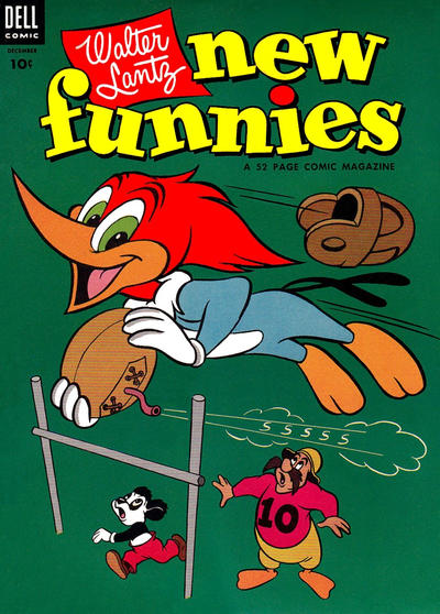 Cover for Walter Lantz New Funnies (Dell, 1946 series) #202