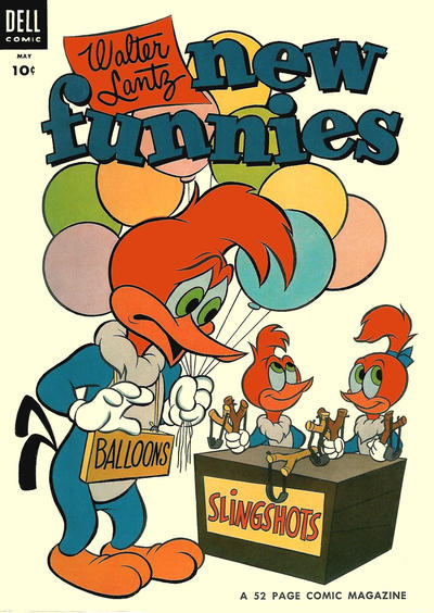 Cover for Walter Lantz New Funnies (Dell, 1946 series) #207