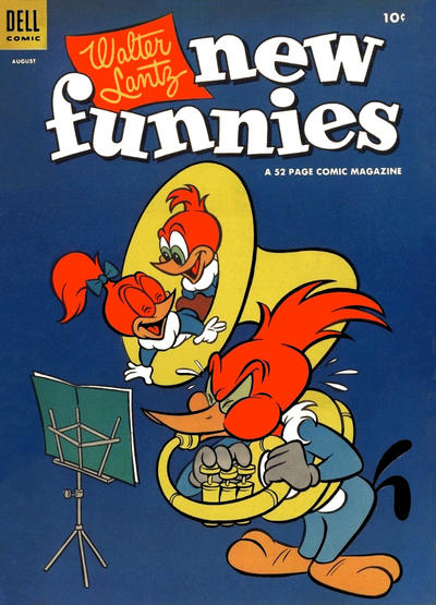 Cover for Walter Lantz New Funnies (Dell, 1946 series) #210