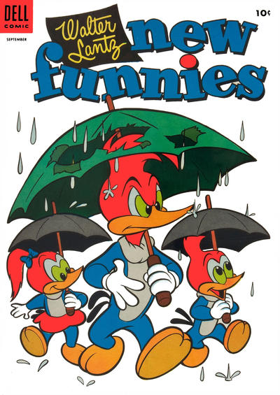 Cover for Walter Lantz New Funnies (Dell, 1946 series) #211