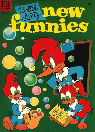 Cover for Walter Lantz New Funnies (Dell, 1946 series) #212