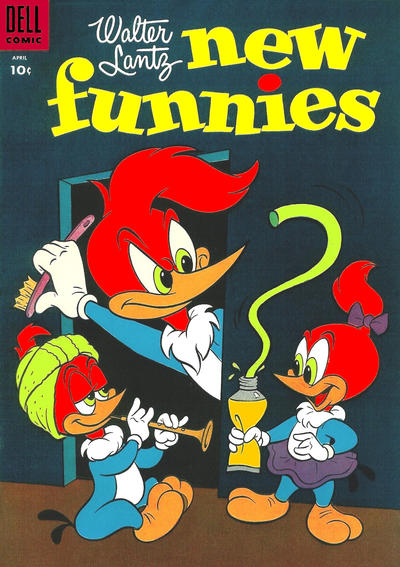 Cover for Walter Lantz New Funnies (Dell, 1946 series) #218