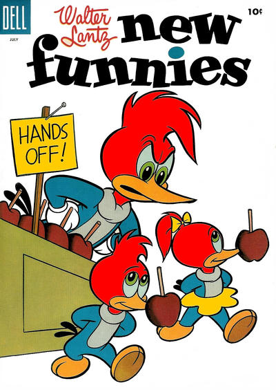 Cover for Walter Lantz New Funnies (Dell, 1946 series) #221