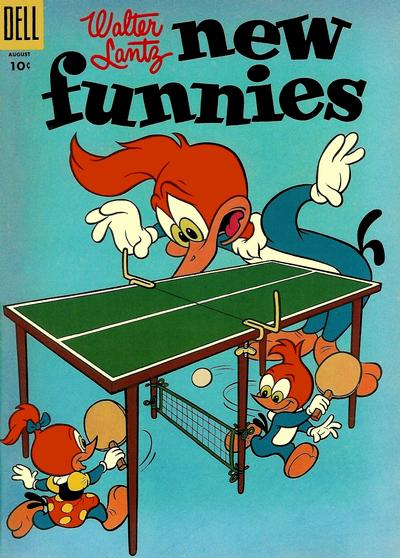 Cover for Walter Lantz New Funnies (Dell, 1946 series) #222