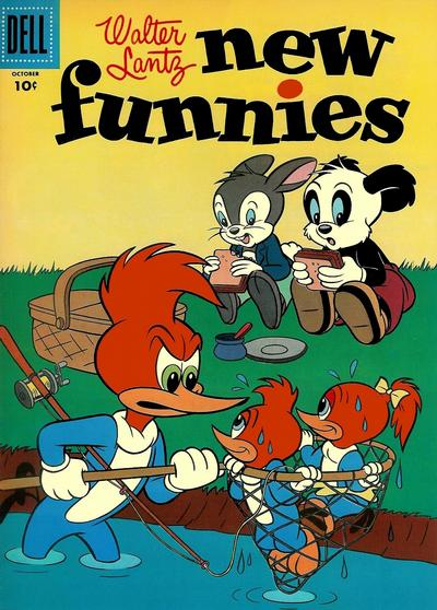 Cover for Walter Lantz New Funnies (Dell, 1946 series) #224