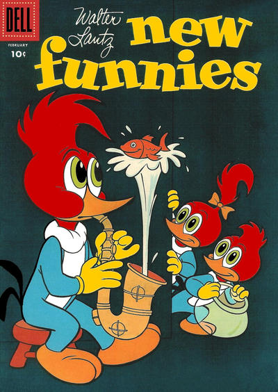 Cover for Walter Lantz New Funnies (Dell, 1946 series) #228