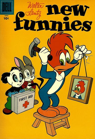 Cover for Walter Lantz New Funnies (Dell, 1946 series) #230
