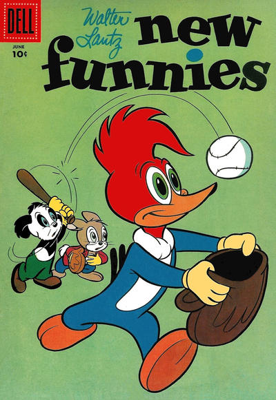 Cover for Walter Lantz New Funnies (Dell, 1946 series) #232