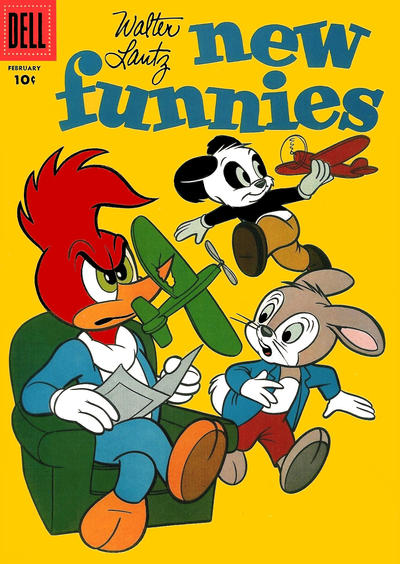Cover for Walter Lantz New Funnies (Dell, 1946 series) #240