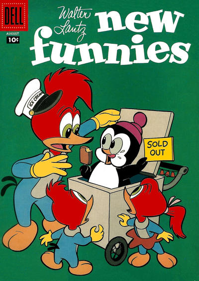 Cover for Walter Lantz New Funnies (Dell, 1946 series) #246