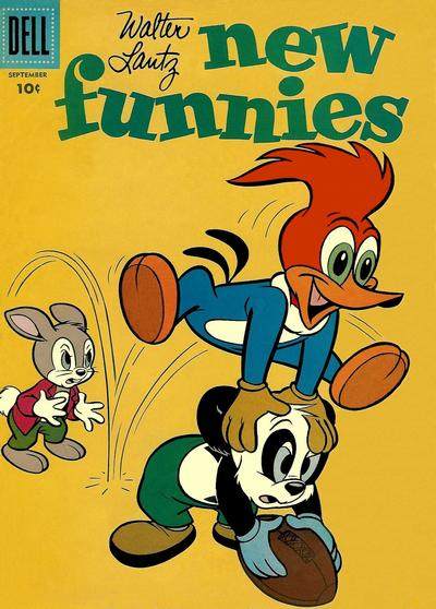Cover for Walter Lantz New Funnies (Dell, 1946 series) #247