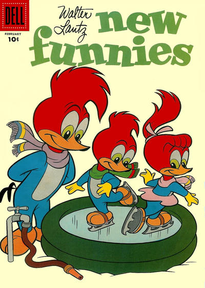 Cover for Walter Lantz New Funnies (Dell, 1946 series) #252