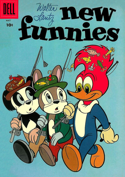 Cover for Walter Lantz New Funnies (Dell, 1946 series) #255
