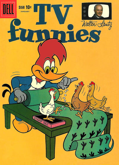 Cover for Walter Lantz New Funnies (Dell, 1946 series) #263