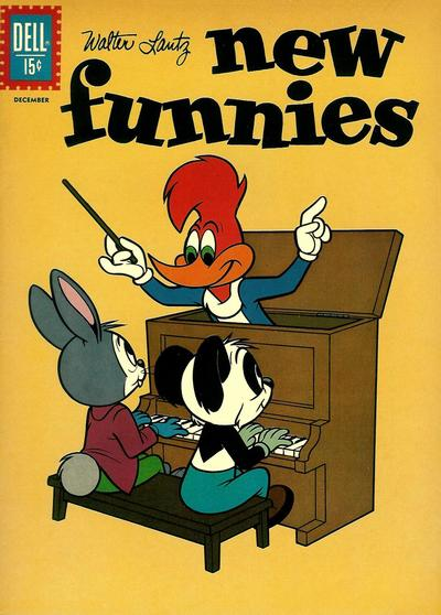 Cover for Walter Lantz New Funnies (Dell, 1946 series) #286
