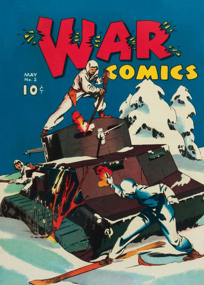 Cover for War Comics (Dell, 1940 series) #2