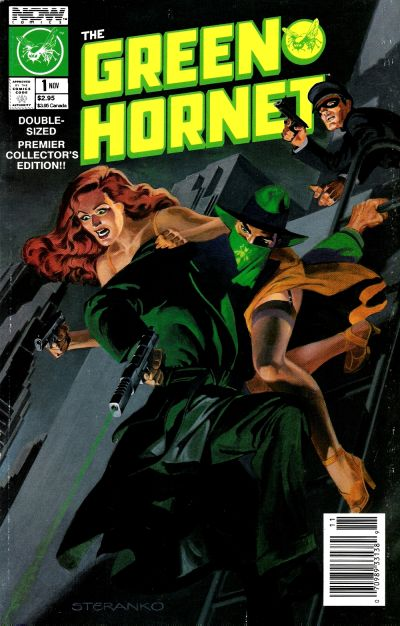 Cover for The Green Hornet (Now, 1989 series) #1 [Direct Edition]
