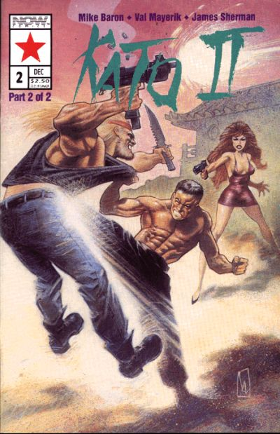 Cover for Kato of the Green Hornet II (Now, 1992 series) #2