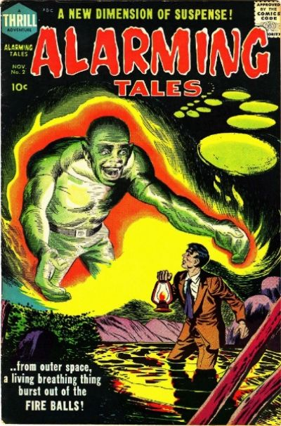Cover for Alarming Tales (Harvey, 1957 series) #2