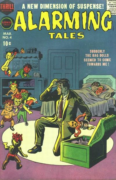 Cover for Alarming Tales (Harvey, 1957 series) #4