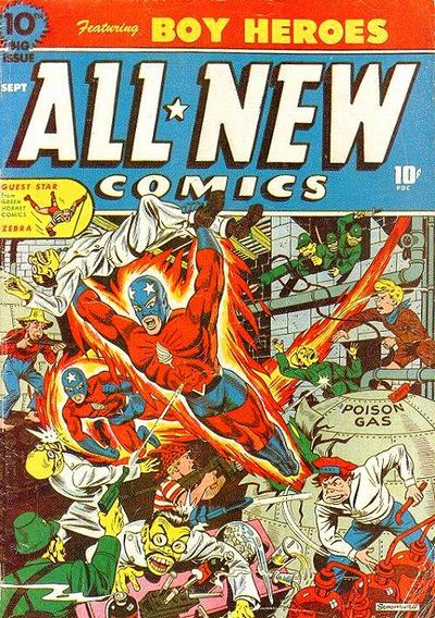Cover for All-New Comics (Harvey, 1943 series) #10