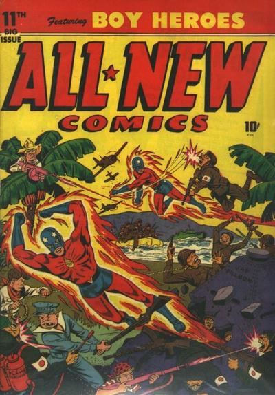 Cover for All-New Comics (Harvey, 1943 series) #11