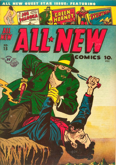 Cover for All-New Comics (Harvey, 1943 series) #13