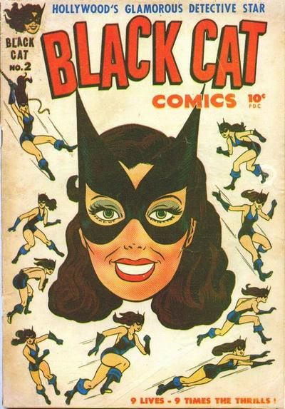 Cover for Black Cat (Harvey, 1946 series) #2