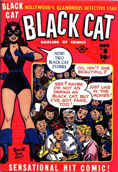 Cover for Black Cat (Harvey, 1946 series) #8