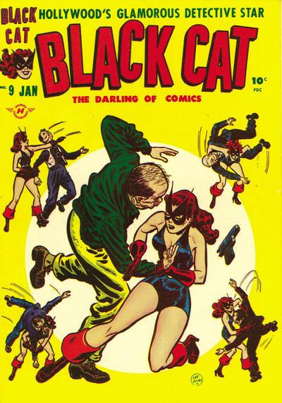 Cover for Black Cat (Harvey, 1946 series) #9