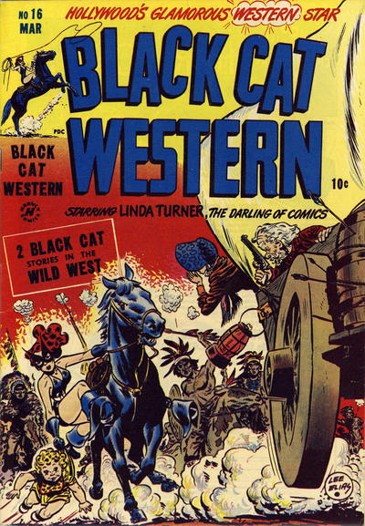 Cover for Black Cat (Harvey, 1946 series) #16