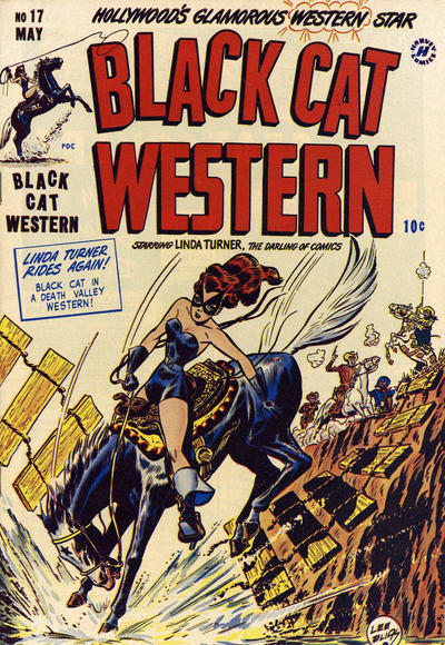 Cover for Black Cat (Harvey, 1946 series) #17
