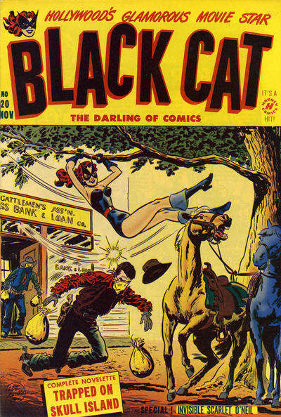 Cover for Black Cat (Harvey, 1946 series) #20