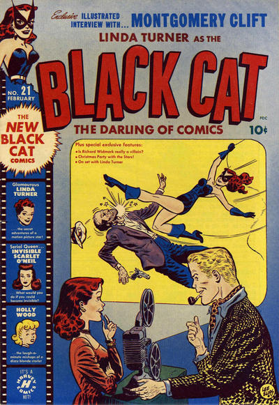 Cover for Black Cat (Harvey, 1946 series) #21