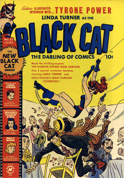 Cover for Black Cat (Harvey, 1946 series) #23