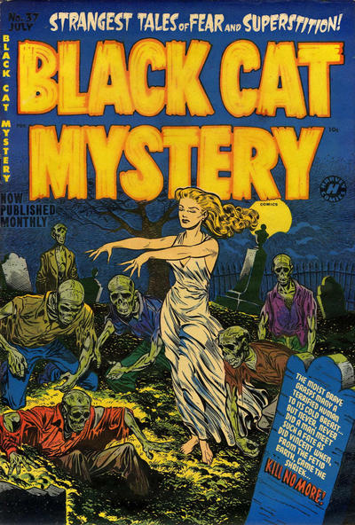 Cover for Black Cat (Harvey, 1946 series) #37