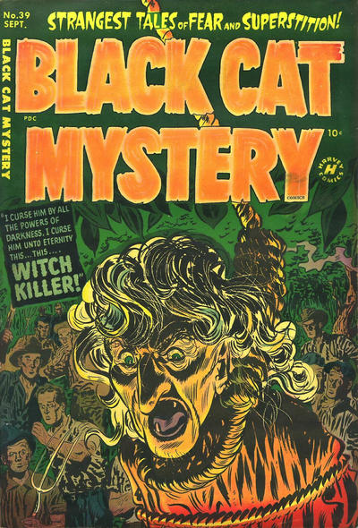Cover for Black Cat (Harvey, 1946 series) #39