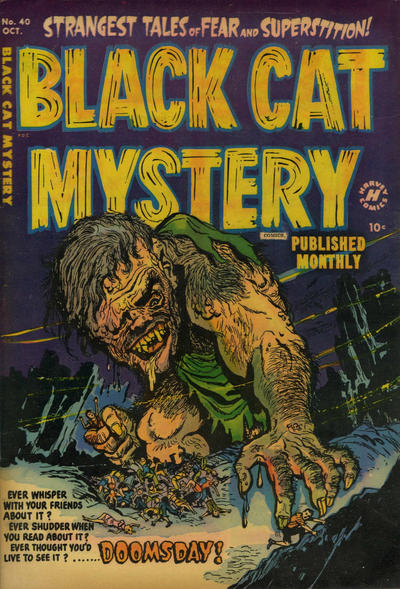 Cover for Black Cat (Harvey, 1946 series) #40