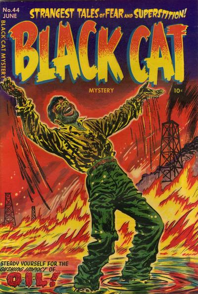 Cover for Black Cat (Harvey, 1946 series) #44