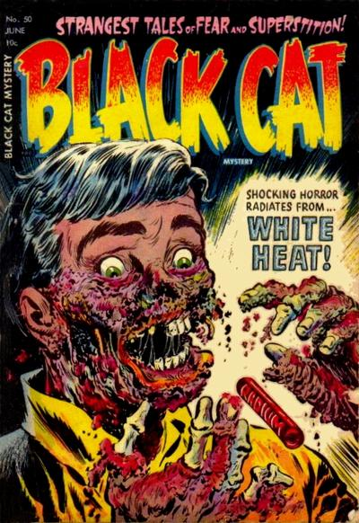 Cover for Black Cat (Harvey, 1946 series) #50