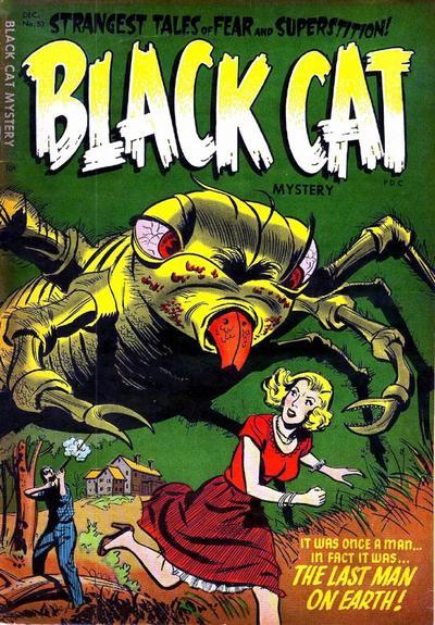 Cover for Black Cat (Harvey, 1946 series) #53